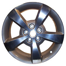 05334 OEM Reconditioned wheel 17 X 7; Medium Charcoal Metallic w/Machined Face
