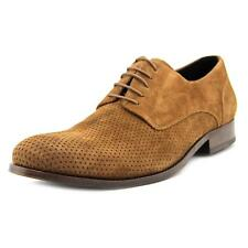 Kenneth Cole NY Not Af-Raid Men  Round Toe Suede Brown Oxford