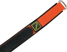 Wrist watch bands Bracelet with Velcro SPORT Nylon orange 16mm18mm20mm22mm