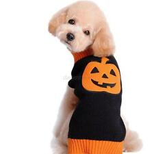 Winter Dog Pet Jacket Pumpkin Style Halloween Sweater Wear Coats Dog Clothing