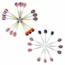 UK & US Flag 15 pcs Soft Needle Tip Darts or 12 pcs Steel Needle Tip Darts