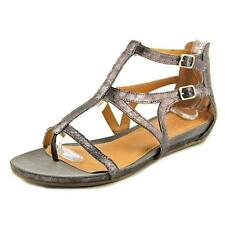 Kenneth Cole Reaction Lost Time Women Synthetic Silver Gladiator Sandal NWOB