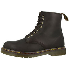 DR DOC MARTENS 1460 BOOTS 8-HOLE LEATHER BOOTS GAUCHO CRAZY HORSE BROWN 11822203