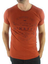 O'Neill T - Shirt Tee Top Archer red Slim Fit Lettering Logo