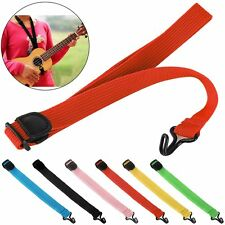 Adjustable Ukulele Guitar Stylish Halter Strap Sling Suspender With Hook