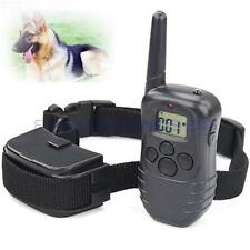 Dog Pet Stop Barking 300M Remote LCD Display Training Collars 100 Levels Shock