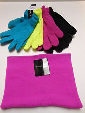 Gloves Womens gloves Youth gloves Knit gloves Neck warmer Ear warmer 5 pc Set
