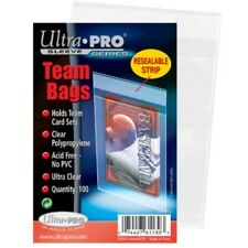 20,000 Ultra Pro RESEALABLE TEAM BAGS New Set 2 Case Lot - 200 Packs Wholesale