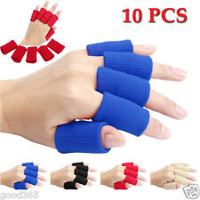10pcs Elastic Stretch Basketball Finger Guard Support Sleeves Sports Protector