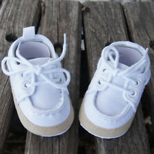 Newborn Boy Girl Baby Kid Soft Sole Casual Canvas Sneaker Toddler Shoes 0-18M