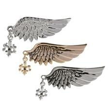 Angel Wings Suit Sweater Brooches Pins w/ Rhinestone Unisex Jewelry Gift