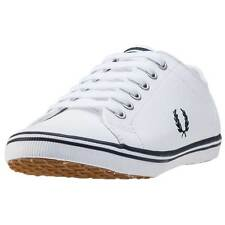 Fred Perry Kingston Unisex Trainers White New Shoes