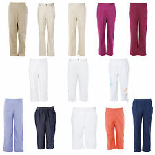 Koret Womens Summer Casual Elastic Waistband  Relax  Shorts Cropped Pants