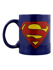 DC Comics DC Originals Superman Logo Blue Mug