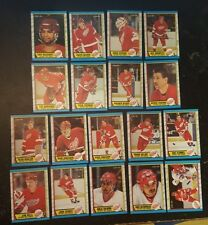 1989-90 OPC DETROIT RED WINGS Select from LIST NHL HOCKEY CARDS O-PEE-CHEE