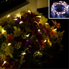 20/30/40/50/100 LED String Copper Wire Fairy Lights Battery Operated Waterproof