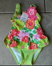Swimsuit Gymboree,bathing suit,one piece,NWT,floral print,sz.6,12,18,24M,2T,3T