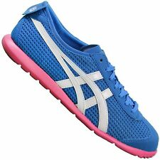 ASICS ONITSUKA TIGER RIO RUNNER D377Y-4201 TRAINERS SHOES MEXICO 66 BLUE PINK