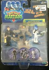 Butt Ugly Martians 3 Collectible Figures With Bogs Sealed On Card (Free Post)