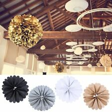 Paper Tissue Poms Wedding Party Rose Pompoms Baby Home Living Room Decoration TR