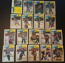 1983-84 OPC HARTFORD WHALERS Select from LIST NHL HOCKEY CARDS O-PEE-CHEE