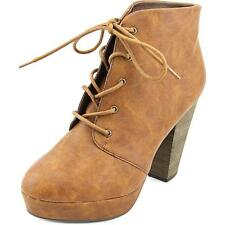 Madden Girl Beast Women  Round Toe Synthetic Tan Bootie