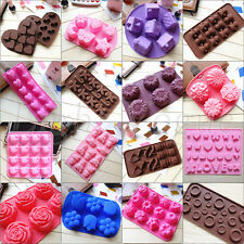 Hot Chocolate Cake Cookie Muffin Jelly Baking Silicone Bakeware Mould Mold 024hh