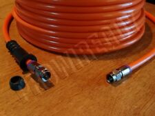 60-250' RG6 Quad-Shield DIRECT BURIAL UG coaxial TV F cable 3GHz HD internet ORG