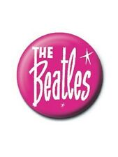 The Beatles Retro Logo Badge