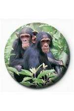 Two Chimps Badge
