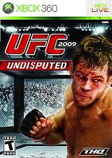 UFC 2009 Undisputed (Microsoft Xbox 360, 2009) Rated T for Teen