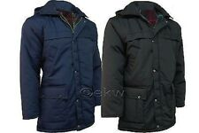 Mens Classic Padded Parka Coat Jacket M-5XL GREAT PRICE