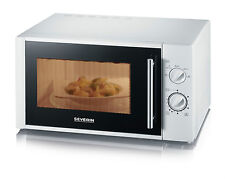 SEVERIN MW7873 LARGE 28L MICROWAVE OVEN, WHITE, 900W, NEW