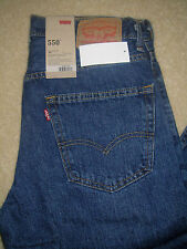 NWT MN LEVI'S 550 4886 RELAXED FIT TAPERED LEG JEANS PANTS DENIM SELECT SIZE $58