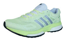 adidas Response Boost Womens Running Trainers / Shoes - Lime Green - B44042