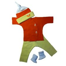 Unisex Baby Candy Corn Outfit 4 Piece Clothing Outfit Preemie and Newborn Sizes