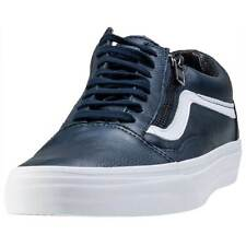 Vans Old Skool Zip Mens Trainers Dress Blue New Shoes