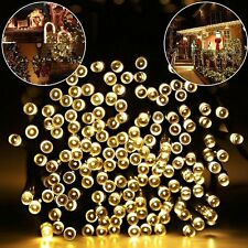 39ft 100 LED Solar LED Lights Waterproof Solar Fairy String Lights for Outdoor