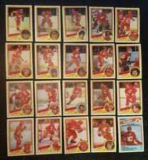 1984-85 OPC CALGARY FLAMES Select from LIST NHL HOCKEY CARDS O-PEE-CHEE