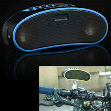 Portable Wireless Bluetooth Speaker Bike Speaker with LED Light and Bike Mount