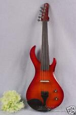 5 String New 4/4 Electric Violin Powerful Sound Solid wood Case Bow #1618