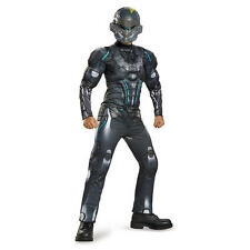 Halo Boys Spartan Locke Classic Muscle Halloween Costume - Child Size