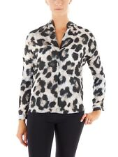 Rich and Royal Blouse Shirt blouse Tunic Top grey - black Pattern