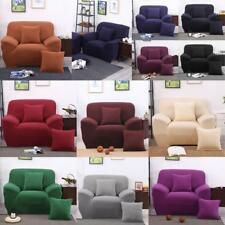 Couch Cover Sofa Armchair Slipcover Removable Stretch Fabric Lounge 1or 3 Seater