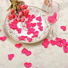 100 Silk Rose Petal Flower Confetti Engagement Celebration Wedding Decoration SP