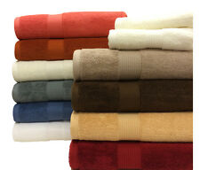 Luxury Lavish Home 100% Cotton Soft Towels Plush 500 GSM Bath Towels 6 Piece Set