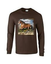 Quarter Horse Cowgirl Cowboy Long Sleeve T-Shirt