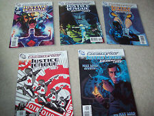 5 x Justice league Generation lost comic issues 1 2 3 4 5 dc comics