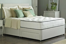 MEMORY FOAM DIVAN BED 5FT 6FT SUPER KING MEMORY FOAM BED + MEMORY FOAM MATTRESS