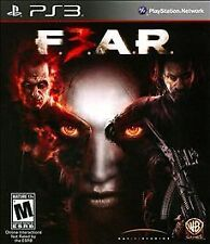F.E.A.R. FEAR 3 (Sony PlayStation 3 PS3/2011) NEW